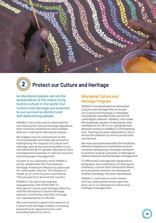 Culture and Heritage Program