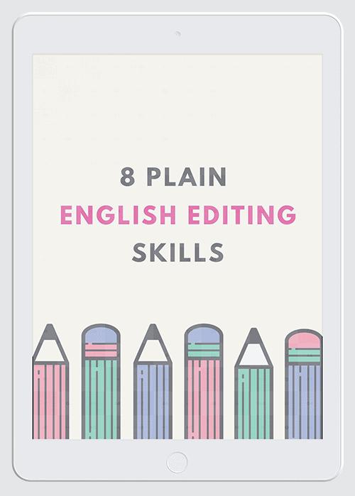 English Editing Skills